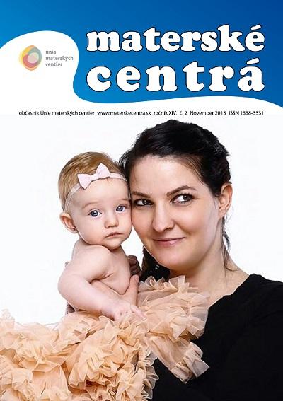 Časopis Materské centrá 2/2018
